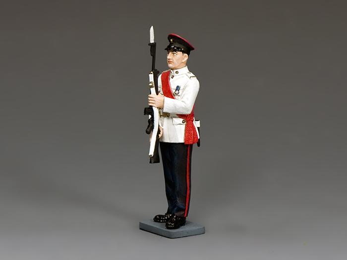 RHKR Staff Sergeant Present Arms