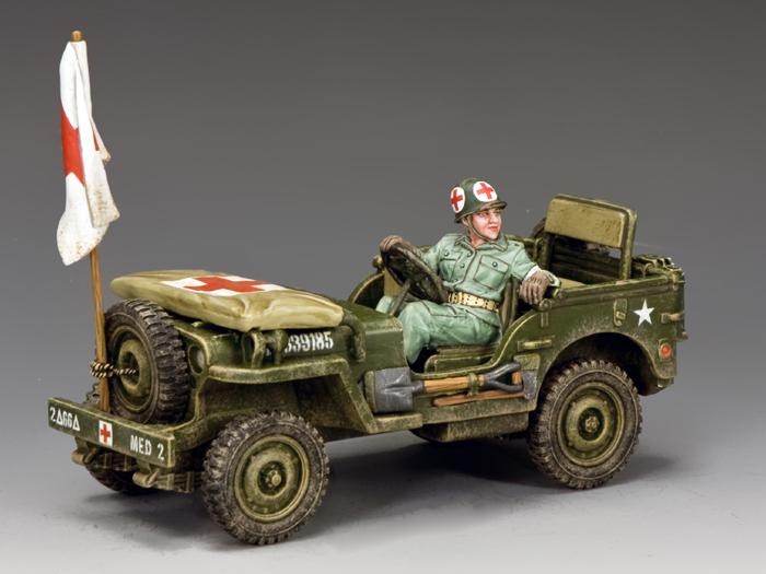 U.S. Army Medics Jeep
