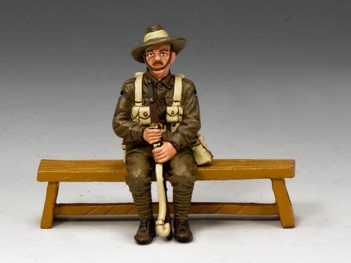 Sitting Anzac Single (Queensland)