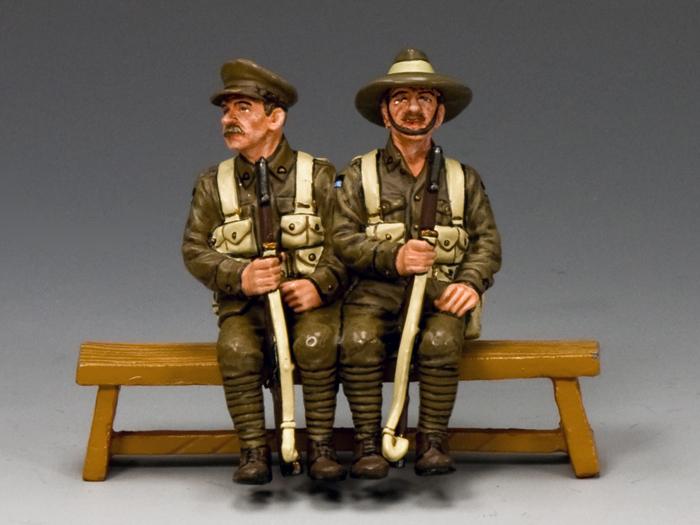 Sitting Anzacs Set #2(Queensland)