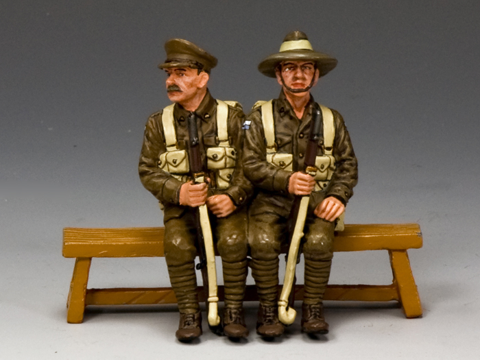 Sitting Anzacs Set #2  (Tasmania, South & Western Australia)
