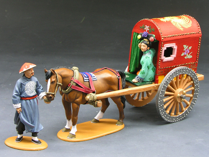 Chinese Horse & Carriage