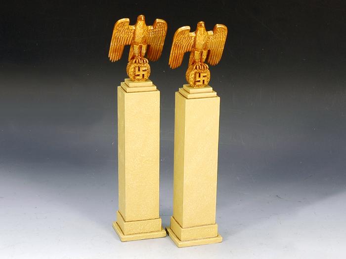 Nazi Eagles on Plinth