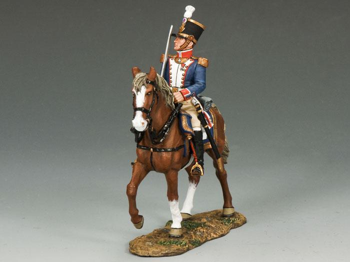 French Line Infantry Mtd. Officer