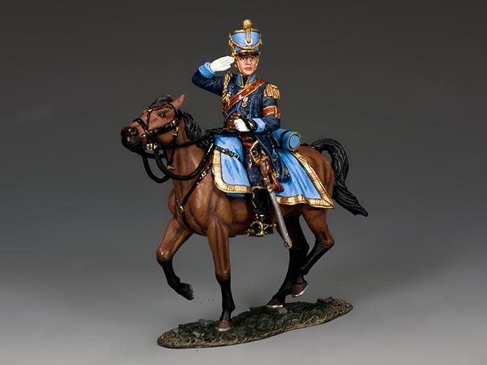 Mounted Saluting Aide de Camp