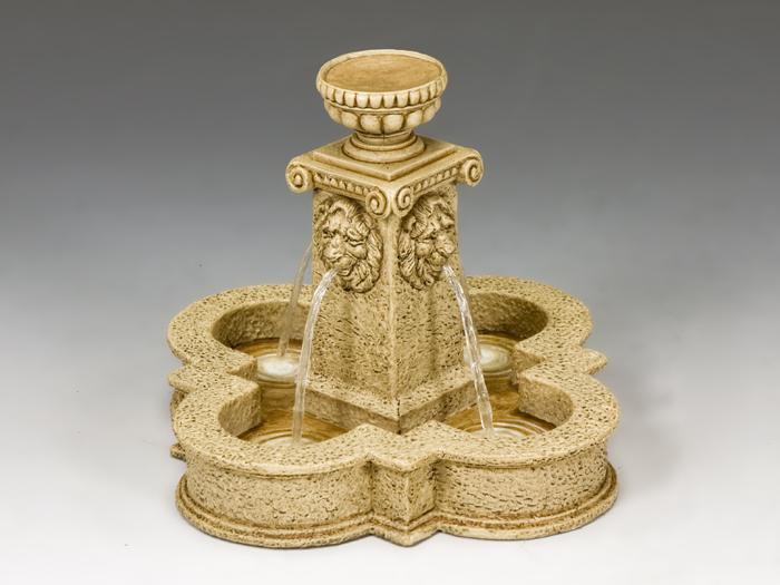 Four Lions Town Fountain (Sandstone)