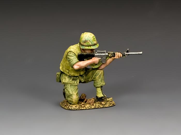 Kneeling Marine Rifleman