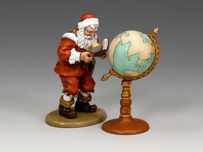 Santa & His Globe