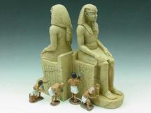 Pair of Pharaoh's Statues