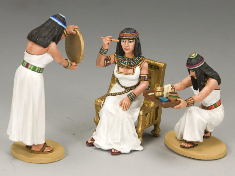 Cleopatra and Her Handmaidens