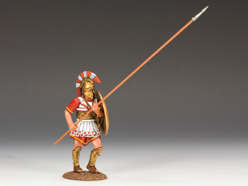 Hoplite w/ Long Spear (45 Degree)