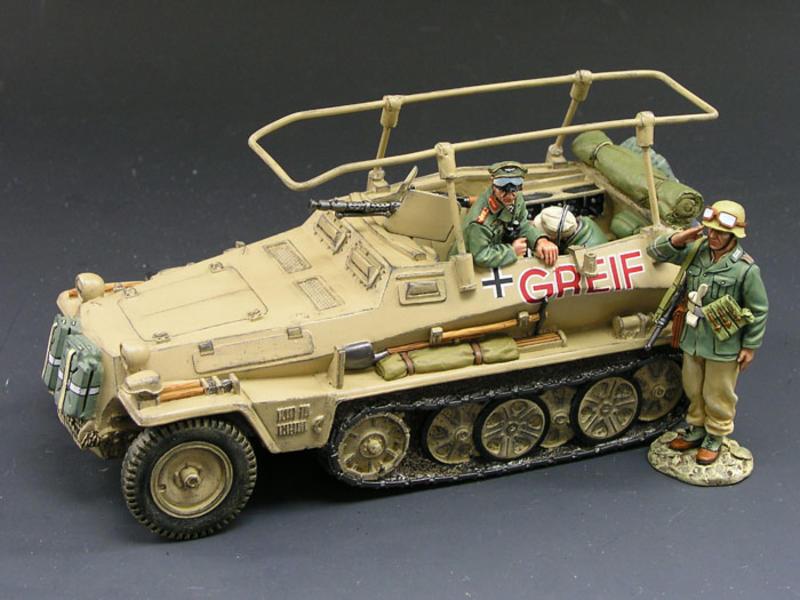 Rommel's Greif Command Half-Track