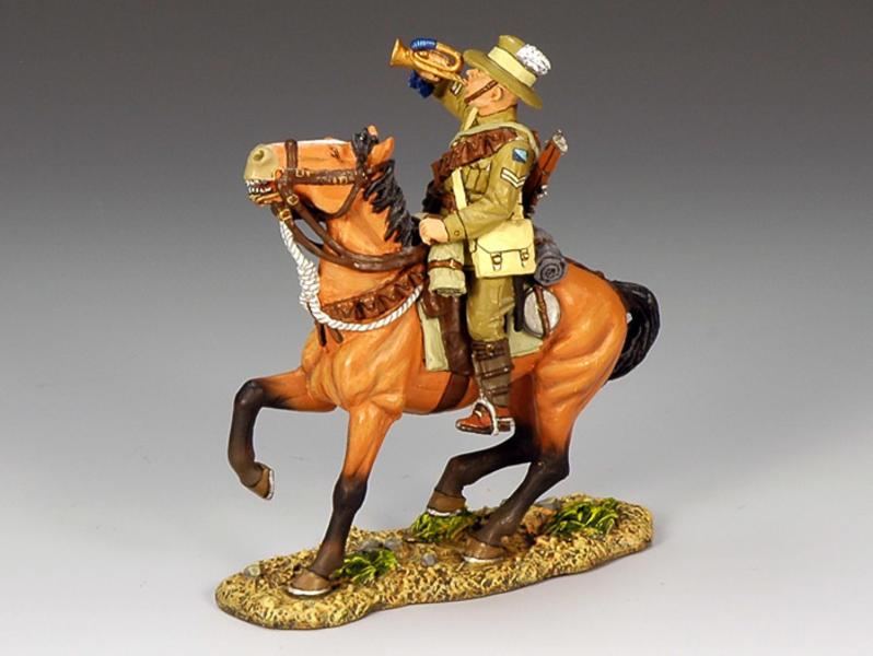Australian Lighthorse Bugler