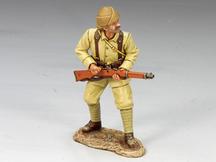 Turkish Soldier Standing Ready