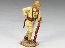 Turkish Soldier Reaching for Bayonet