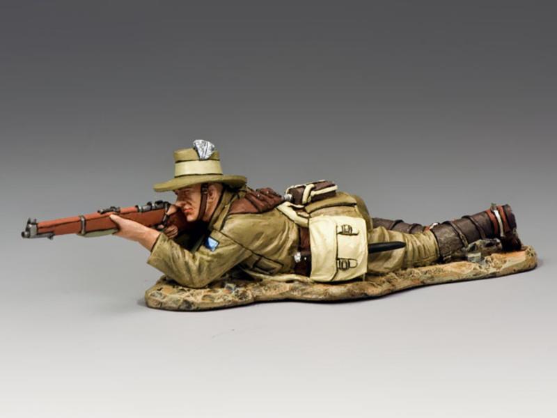 Lying Firing w/ Rifle & Bayonet