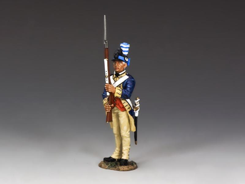 Guardsman Presenting Arms