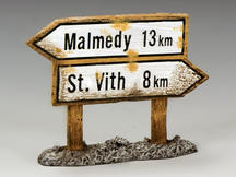 Malmedy Signpost