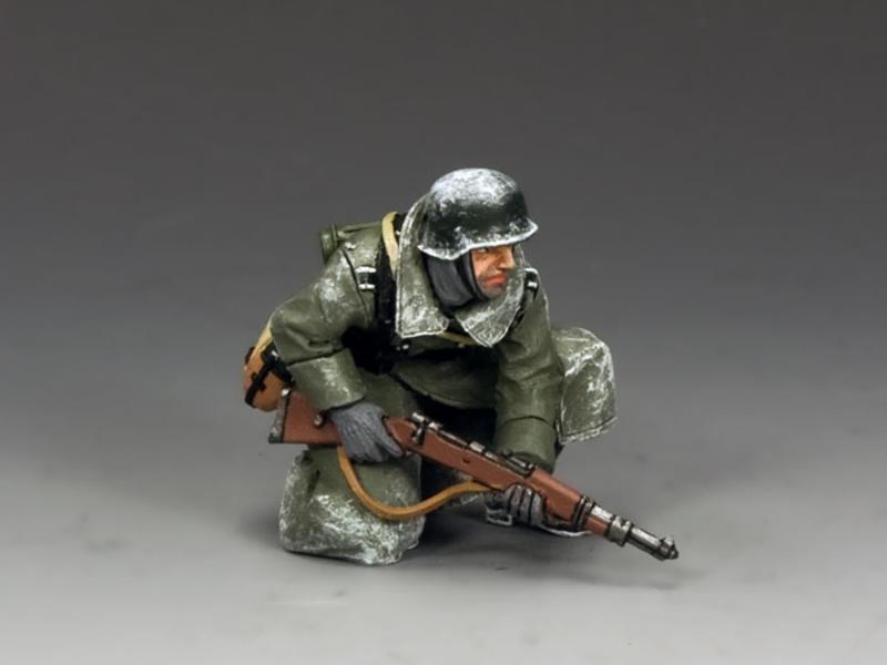 Kneeling Ready Tank Rider
