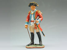 British Officer with Telescope