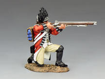 Royal Welch Fusilier Kneeling Firing