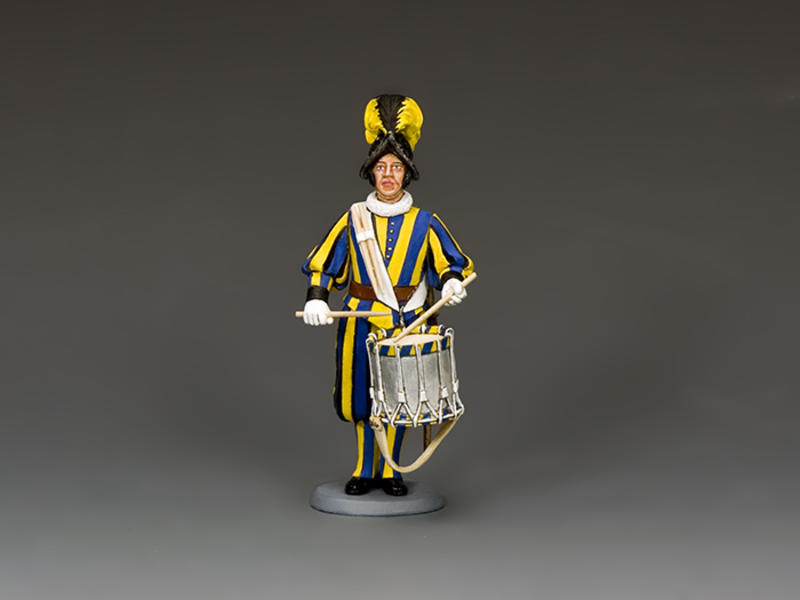 Swiss Guard Drummer