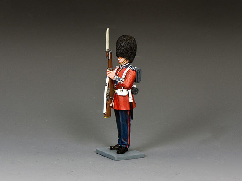 Coldstream Guardsman 'Present Arms'