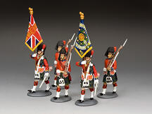 The Black Watch Colour Party