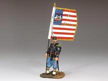 Union Sergeant w/ Flag