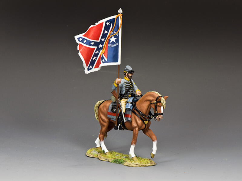 29th Texas Cavalry Flagbearer