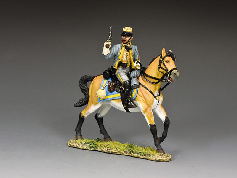 The Confederate Cavalry Officer'