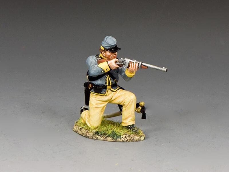 Kneeling Trooper Firing Carbine