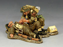 British 3rd. Infantry Division, Medic & Wounded