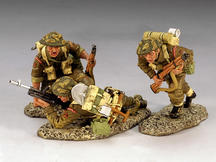 British 3rd. Infantry Division, Moving Inland