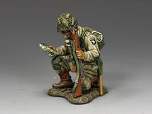 Kneeling Officer w/ Map