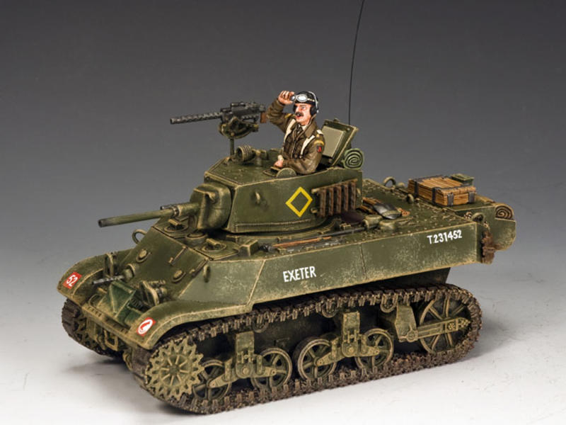 "M3A3 ""Stuart"" Light Tank"