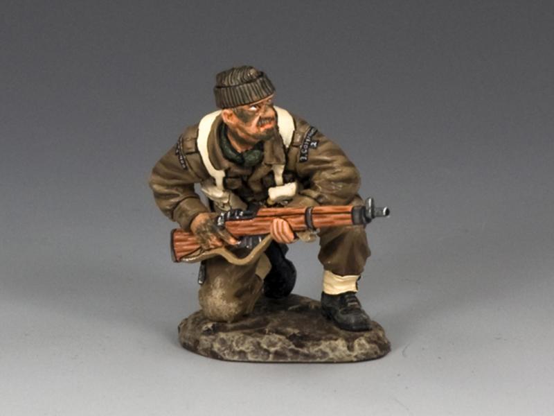 Kneeling with Rifle