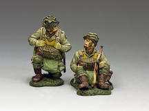 Kneeling and Sitting Paratroopers (101st)