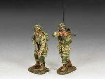 US Paratroopers Covering Fire (101st Airborne)