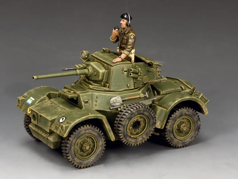 The Daimler MK. II Armoured Car