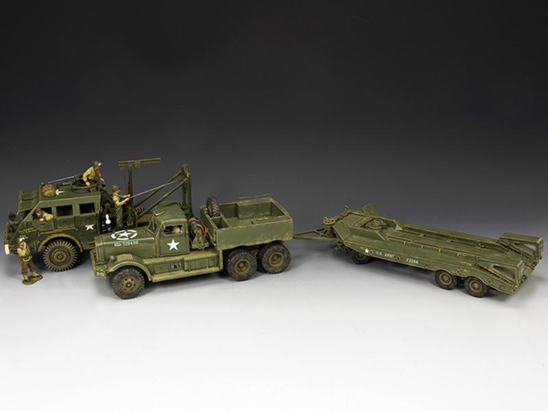 DD318 Diamond T with DD104(SL) M26 Recovery Vehicle