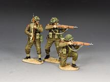 Riflemen in action Set (w/ Sand base)
