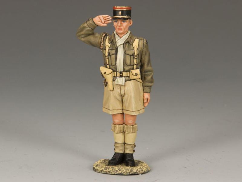 Legion Officer Saluting