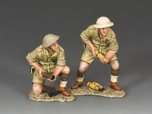 British 25 PDR. Field Gun Crew (Aust.)