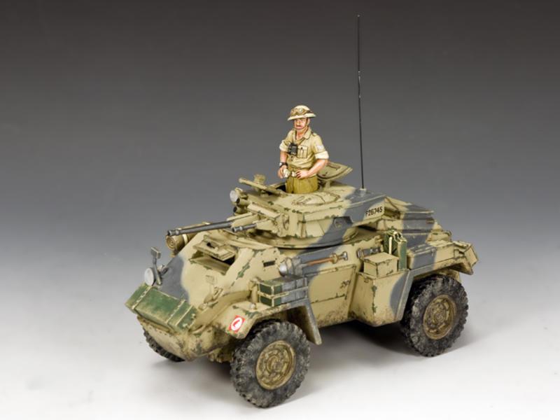 The Humber MK.II Armoured Car, WW2 British Eighth Army