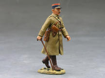 French Marching Officer