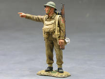 Pointing Sergeant Major