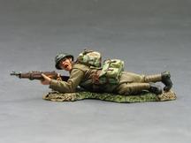 Fr. Lying Firing Rifleman