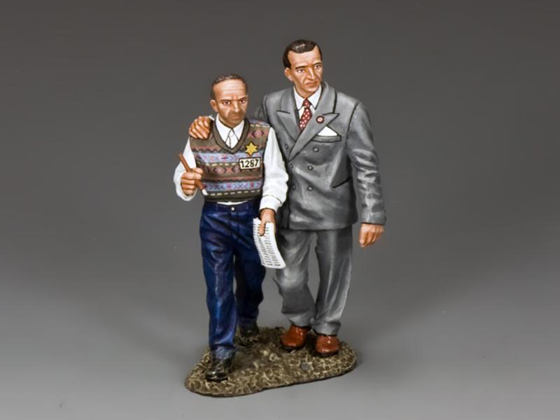 Oskar Schindler & Itzhak Stern