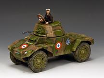 The Panhard 178 Armoured Car
